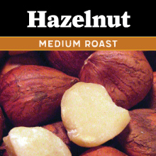 Thanksgiving Hazelnut Coffee - medium roast THUMBNAIL