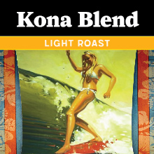 Thanksgiving Coffee Kona Blend - light roast THUMBNAIL