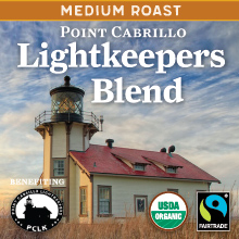 Thanksgiving Coffee Lightkeepers Blend Medium Roast- Fair Trade, organic THUMBNAIL