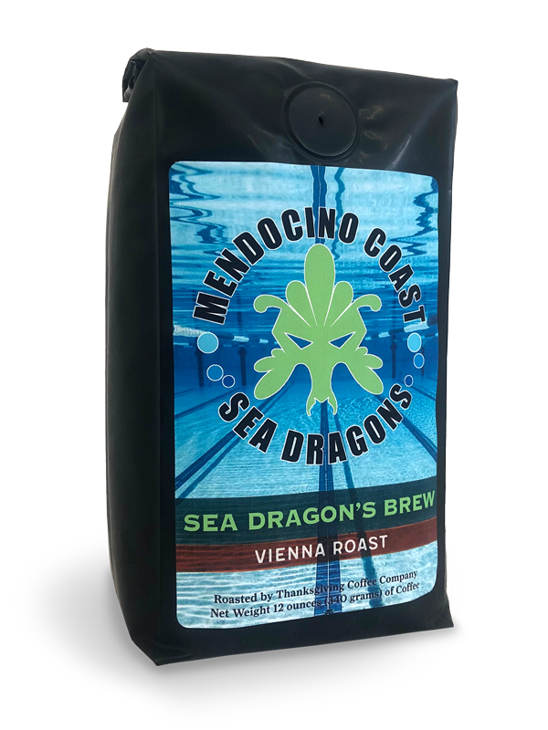 Thanksgiving Coffee Sea Dragon's Brew - dark Vienna roast, Fair Trade, organic coffee blend MAIN