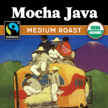 Thanksgiving Coffee Mocha Java - medium roast, Fair Trade, organic THUMBNAIL