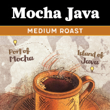 Thanksgiving Coffee Mocha Java - medium roast THUMBNAIL