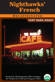 Nighthawks' Decaf – Very Dark Roast THUMBNAIL