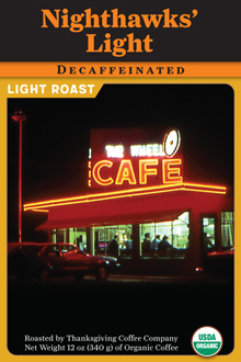 Nighthawks' Decaf – Light Roast THUMBNAIL