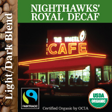 Nighthawks' Decaf – Royal Blend