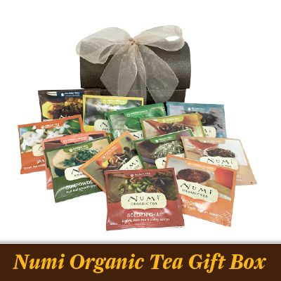 Numi Organic Tea Sampler - gift box