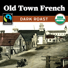 Thanksgiving Coffee Old Town French - dark roast, Fair Trade, organic blend THUMBNAIL