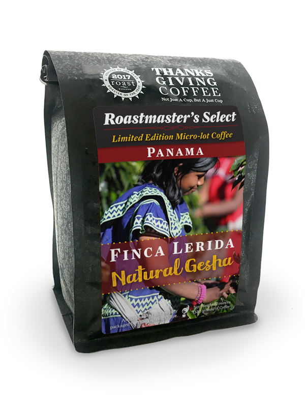 Thanksgiving Coffee Panama Natural Gesha - Limited Edition Micro-Lot Single Origin Coffee MAIN