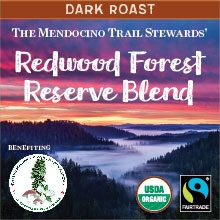 Redwood Forest Reserve Blend - dark roast, Fair Trade, organic blend THUMBNAIL