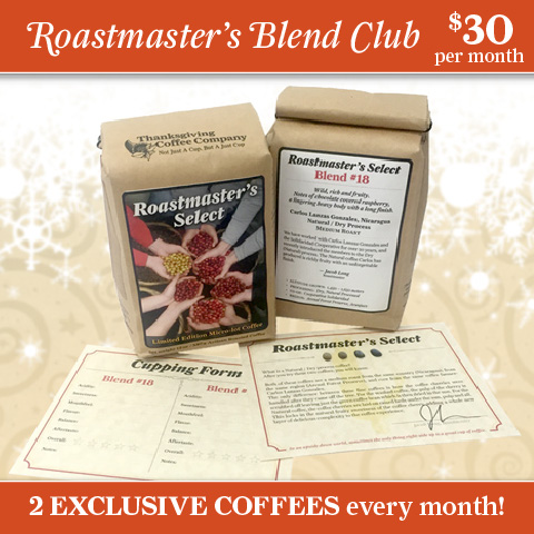 Coffee Club: Roastmaster's Select