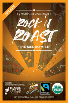 The Mendo Vibe - Rock 'n Roast THUMBNAIL