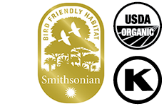 Smithsonian Bird Friendly Coffee Certification