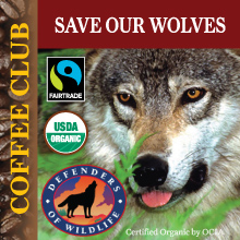 Save Our Wolves Coffee Club