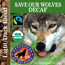 Save Our Wolves - Decaf