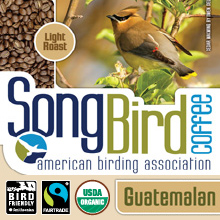 Thanksgiving Coffee Guatemalan -  bird friendly, light roast, organic, shade grown THUMBNAIL