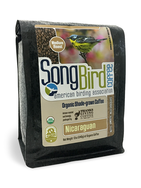 Thanksgiving Coffee Nicaraguan -  bird friendly, medium roast, organic, shade grown MAIN