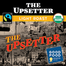 Thanksgiving Coffee The Upsetter - Fair Trade, light roast, organic espresso blend THUMBNAIL