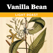 Thanksgiving Coffee Vanilla Bean - flavored, light roast blend THUMBNAIL