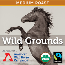 Thanksgiving Coffee Wild Grounds - medium roast, Fair Trade, organic blend THUMBNAIL