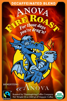 Anova Fire Roast - Decaf Blend