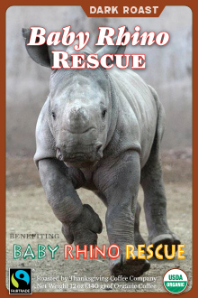 Baby Rhino Rescue - Dark Roast