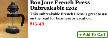 BonJour French Press – Unbreakable 12oz