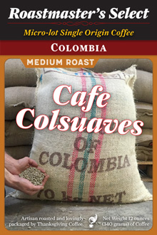 Colombia Cafe Colsuaves