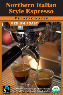 Northern Italian Style Espresso - FTO Decaf THUMBNAIL