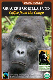 Congo Coffee - Grauer's Gorilla Fund
