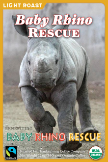 Baby Rhino Rescue - Light Roast