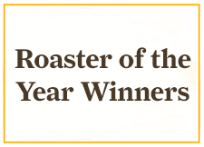 Coffee Roaster of the Year Award Winners