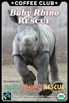 Baby Rhino Rescue Coffee Club