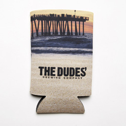 Koozie Tallboy - The Dudes' Logo - Full Color THUMBNAIL