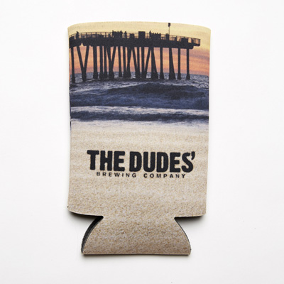 Koozie Tallboy - The Dudes' Logo - Full Color MAIN