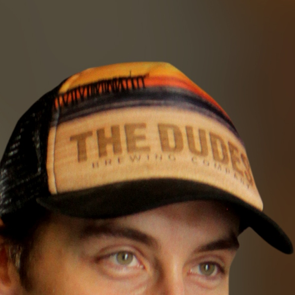 Hat - Trucker Adjustable - The Dudes' Small Full Color THUMBNAIL