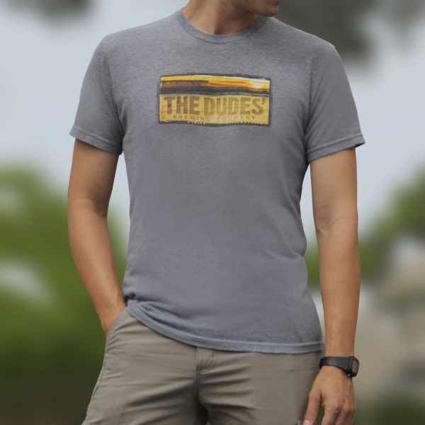 TShirt - Dudes' Logo - Men's - Premium Heather MAIN