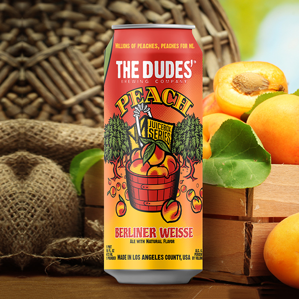 JUICEBOX SERIES®:  Peach Berliner Weisse (4-Pack)