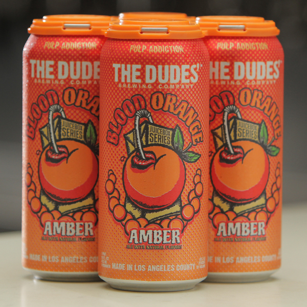 JUICEBOX SERIES®: Blood Orange Amber Ale (4-Pack) SWATCH