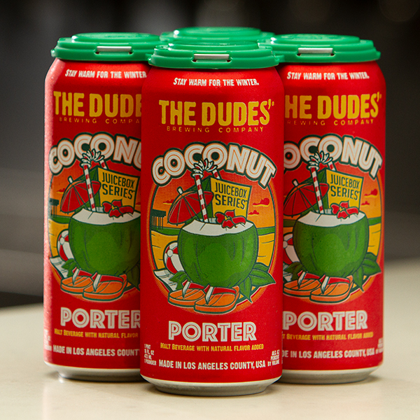 JUICEBOX SERIES®: Coconut Porter (4-Pack) MAIN
