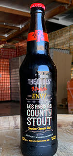 7 Deadly Sins Series - Envy: Los Angeles County Stout (22oz) LARGE