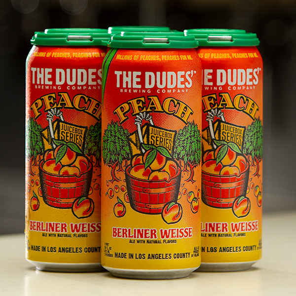 JUICEBOX SERIES®:  Peach Berliner Weisse (4-Pack) LARGE