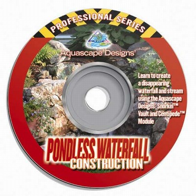 Aquascape Pondless Waterfall Construction - Instructional Water Garden & Pond DVD THUMBNAIL