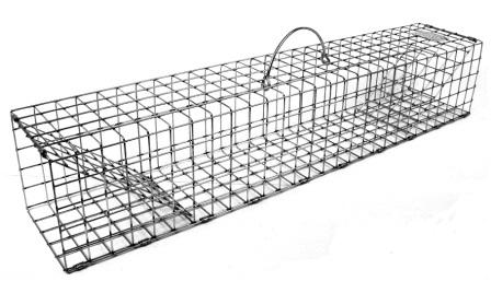 "Rigid Colony Trap - Muskrat Size (28"" x 5"" x 5"") LARGE"