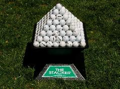 Pyramidal Golf Ball Stackers (includes trays)