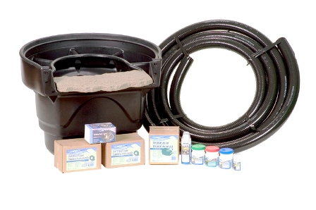 Aquascape PRO-FIT BioFilter, Light, & Pipe Combos For Water Gardens & Ponds