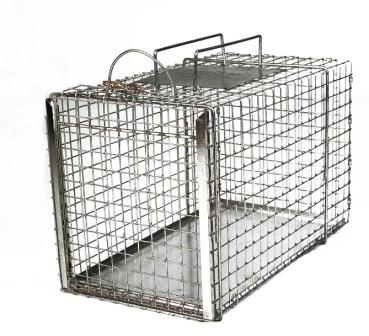 "Animal Transfer Cage - TNR Cat Size - (20""L x 11""W x 12""H) LARGE"
