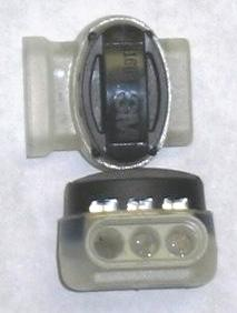 3M Silicone Solderless Connectors with Silicone - Pair (2) of Connectors