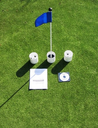 Practice Putting Green Accessory Kits - For Golf & Putting Green Applications THUMBNAIL