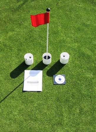 Practice Putting Green Accessory Kits - For Golf & Putting Green Applications MAIN