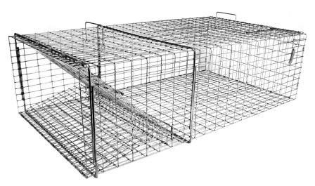 Multible Catch Live Snapping Turtle Trap - For Pond & Water Garden Predator Control THUMBNAIL